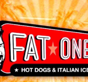 An advertisement for Fat One's