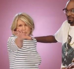 Martha and Snoop dancing