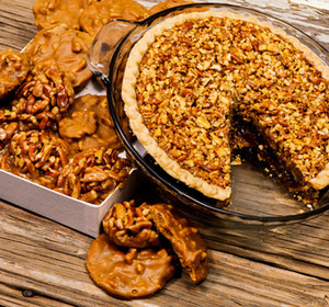 Pecan Pie and Candies