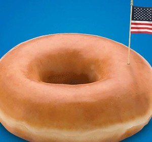 Election Day Free Donut
