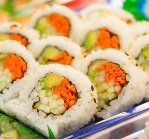 Tray of Sushi