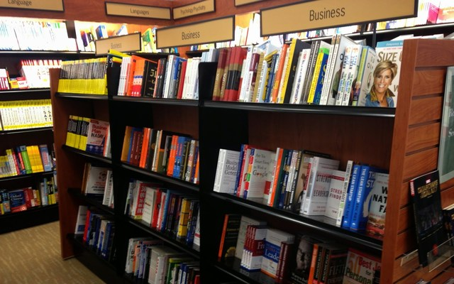 Books at Barnes and Noble
