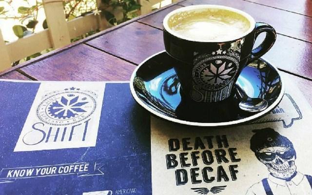 Mug of Black Insomnia Coffee