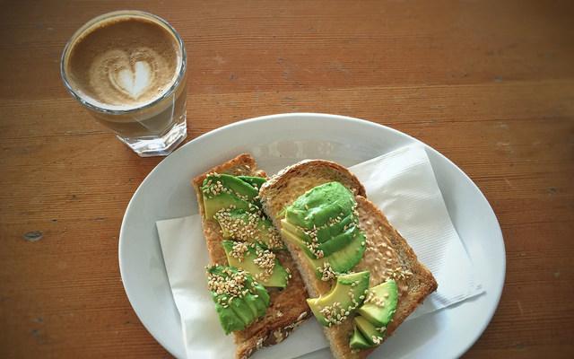 Avocado Toast and Latte