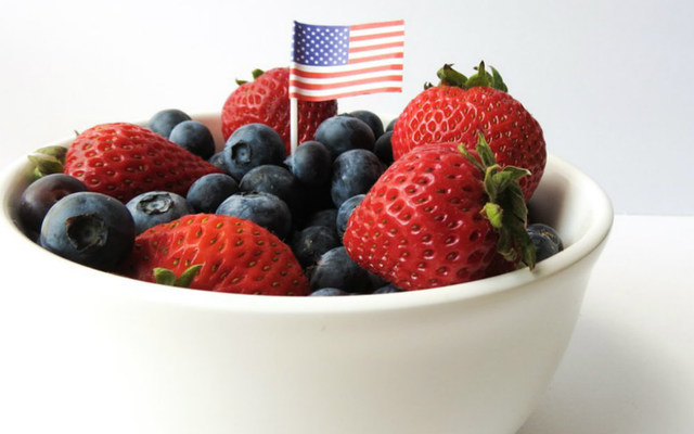 fourth of july berries