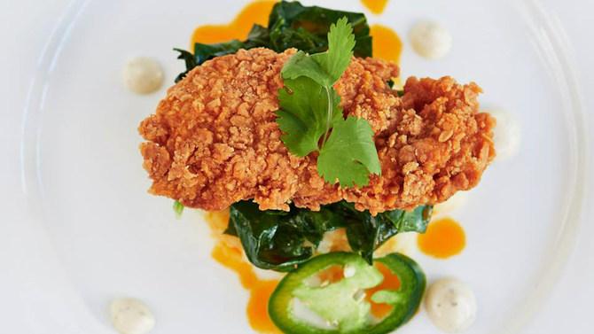 lab-grown fried chicken