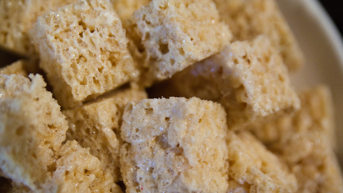 Rice Crispy Treat Squares