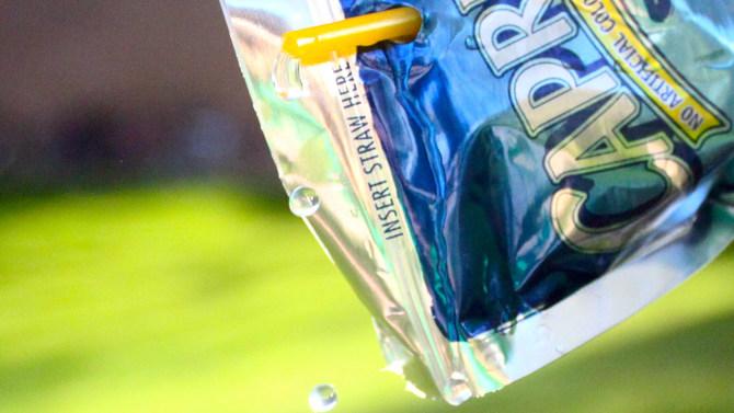 Capri-Sun juice pouch