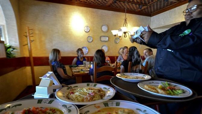 Olive Garden dishes