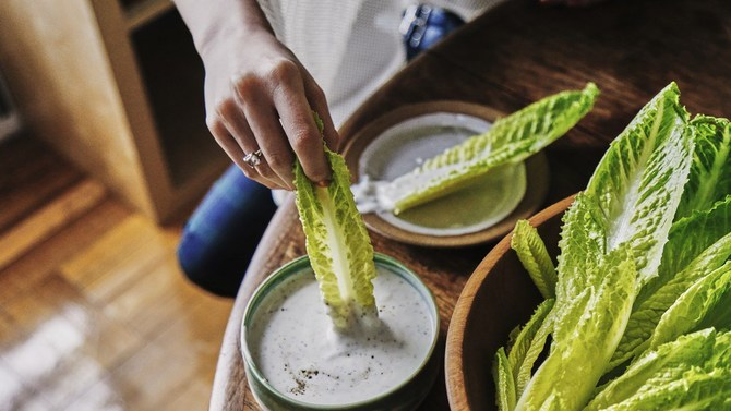 Hand Salad