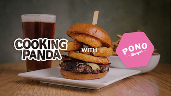Cooking Panda x Pono Burger