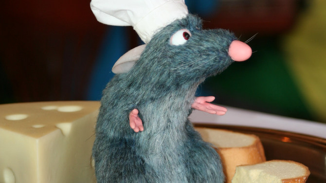 """Remy from Disney's """"Ratatouille"""""""