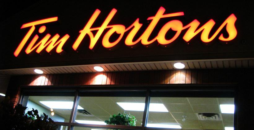 Tim Hortons storefront